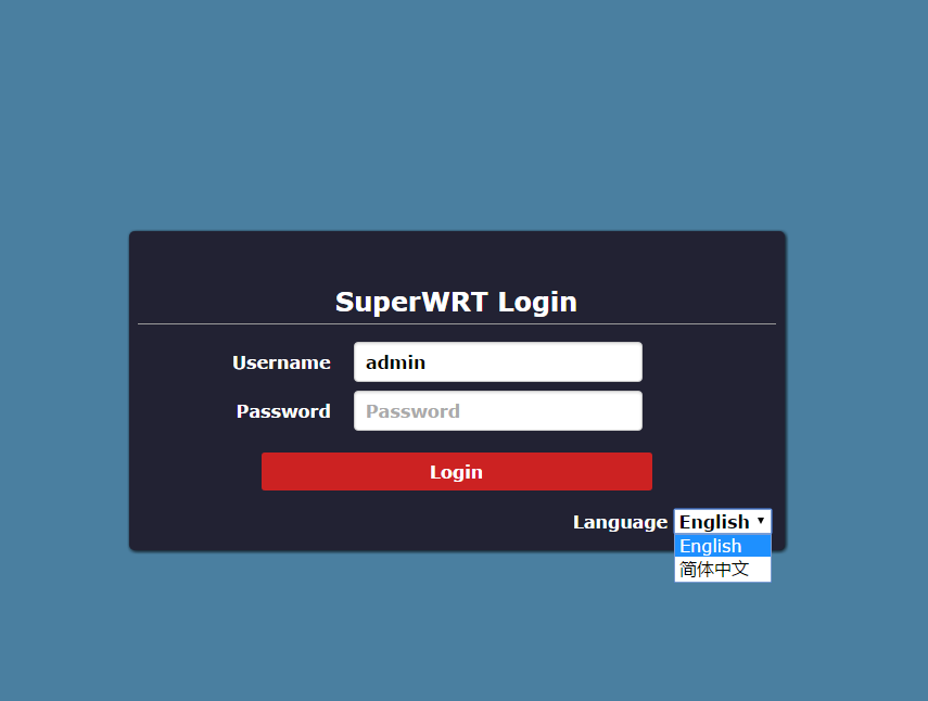 SuperWRT_V0_4_1_login